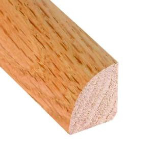 Millstead Unfinished Oak 3/4 in. Thick x 3/4 in. Wide x 78 in. Length Hardwood Quarter Round Molding