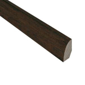 Millstead Hickory Chestnut 3/4 in. Thick x 3/4 in. Wide x 78 in. Length Hardwood Quarter-Round Molding