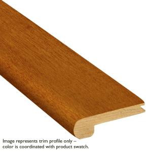 Bruce 3/8 in. x 2-3/4 in. x 78 in. Red Oak Gunstock Stairnose