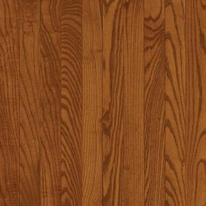 Bruce Oak Gunstock 3/4 in. Thick x 5 in. Wide x Random Length Solid Hardwood Flooring 23.5 SF/case
