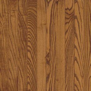 Bruce 3/4in x 3-1/4 in. x Random Length Solid Oak Gunstock Hardwood Flooring 22 (sq. ft./case)