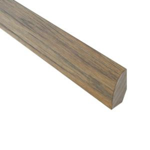 Millstead Burnished Straw 3/4 in. Thick x 3/4 in. Wide x 78 in. Length Hardwood Quarter Round Molding