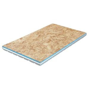Amdry 2.09 in. x 2 ft. x 4 ft. OSB Insulated R7 Subfloor Panel