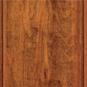 Home Legend Hand Scraped Maple Messina Solid Hardwood Flooring - 5 in. x 7 in. Take Home Sample