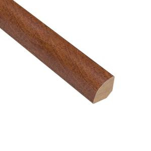 Home Legend Fremont Walnut 3/4 in. Thick x 3/4 in. Wide x 94 in. Length Hardwood Quarter Round Molding
