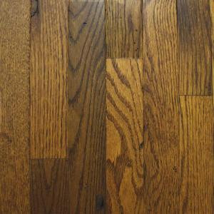 Heritage Mill Rustic Oak Old World Brown 3/4 in. x 2-1/4 in. Wide x Random Length Solid Hardwood Flooring (20 sq. ft. / case)