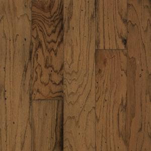 Bruce Distressed Oak Gunstock Engineered Hardwood Flooring - 5 in. x 7 in. Take Home Sample