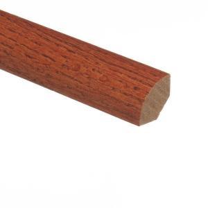 Zamma Oak Gunstock 3/4 in. Thick x 3/4 in. Wide x 94 in. Length Hardwood Quarter Round Molding