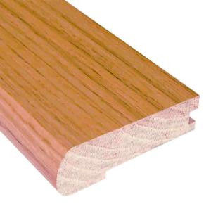 Millstead Unfinished Oak 3/4 in. Thick x 2-3/4 in. Wide x 78 in. Length Hardwood Stair Nose Molding