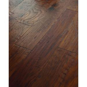 Shaw 3/8 in. x 6 3/8 in. Hand Scraped Old City Lost Trail Hickory Engineered Hardwood Flooring (25.40 sq. ft. / case)