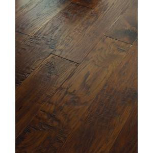 Shaw 3/8 in. x 6 3/8 in. Hand Scraped Old City Cisco Hickory Engineered Hardwood Flooring (25.40 sq. ft. / case)