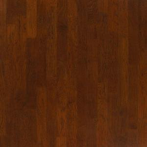 Millstead Hickory Dusk 3/8 in. Thick x 4-1/4 in. Wide x Random Length Engineered Click Wood Flooring (20 sq. ft. / case)