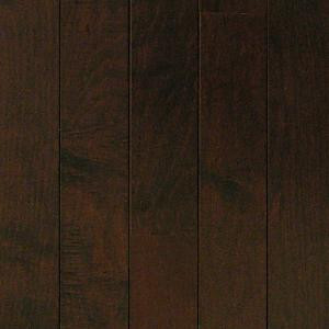 Millstead HS Maple Chocolate 3/8 in. Thick x 3-3/4 in. Wide x Random Length Engineered Click Hardwood Flooring (24.4 sq. ft./case)