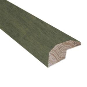 Millstead Slate 0.88 in. Thick x 2 in. Wide x 78 in. Length Hardwood Carpet Reducer/Baby Threshold Molding