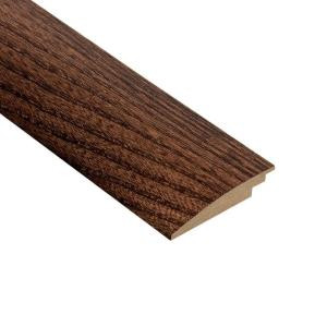 Home Legend Elm Walnut 3/8 in. Thick x 2 in. Wide x 78 in. Length Hardwood Hard Surface Reducer Molding