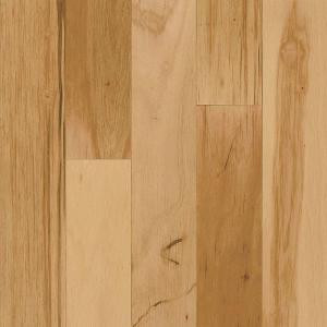 Bruce Hickory Rustic Natural 3/8 in. Thick x 3 in. Wide x Random Length Engineered Hardwood Flooring (28 sq. ft. / case)