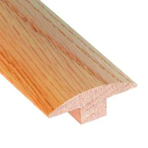 Millstead Red Oak Natural .653 in. Thick x 1.9 in. Wide x 78 in. Length Hardwood T-Molding