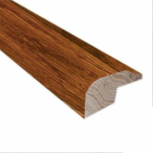Millstead Birch Dark Gunstock .88 in. Thick x 2 in. Wide x 78 in. Length Hardwood Carpet Reducer/Baby Threshold Molding
