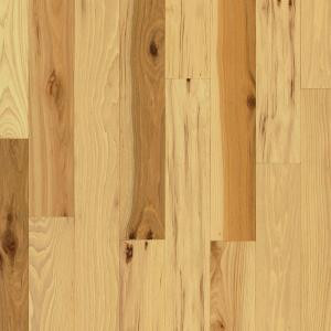 Bruce Hickory Country Natural 3/4 in. Thick x 2-1/4 in. Width x Random Length Solid Hardwood Flooring