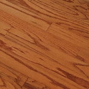 Bruce Oak Gunstock 3/8 in. Thick x 3 in. Wide x Random Length Engineered Hardwood Flooring (25 sq. ft./case)