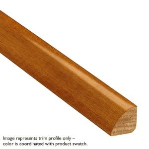 Bruce Toasted Maple 3/4 in. Thick x 3/4 in. Wide x 78 in. Long Quarter Round Molding