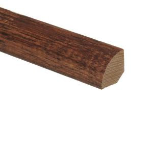 Zamma Artisan Hickory Sepia 3/4 in. Thick x 3/4 in. Wide x 94 in. Length Wood Quarter Round Molding