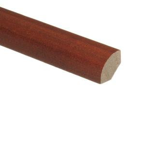 Zamma Maple Plano Cherry 3/4 in. Thick x 3/4 in. Wide x 94 in. Length Hardwood Quarter Round Molding