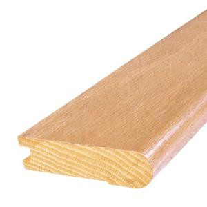 Mohawk 7 ft. x 3 in. x 3 in. Natural Red Oak Stair Nose Molding