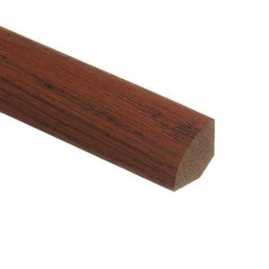 Zamma Oak Gunstock 3/4 in. Thick x 3/4 in. Wide x 94 in. Length Wood Quarter Round Molding