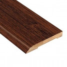 Home Legend Brushed Horizontal Rainforest 1/2 in. Thick x 3-3/4 in. Wide x 94 in. Length Bamboo Wall Base Molding