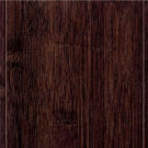 Home Legend Hand Scraped Horizontal Black 9/16 in. x 4-3/4 in. x 47-1/4 in. Length Engineered Bamboo Flooring (24.94 sq. ft. / case)