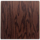 Ludaire Speciality Tile Red Oak Coffee Engineered Hardwood Tile Flooring -12 in. x 12 in. Take Home Sample