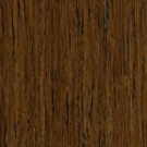 Home Legend Brushed Strand Woven Burnt Umber 3/8 in. Thick x 5 in. Wide x 36 in. Length Click Lock Bamboo Flooring (25 sq.ft./case)