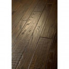 Shaw 3/8 in. x 3-1/4 in. and 5 in. Scraped Dunwoody Oak Leather Engineered Hardwood Flooring (19.80 sq. ft. / case)