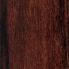 Home Legend Strand Woven Cherry Sangria Solid Bamboo Flooring - 5 in. x 7 in. Take Home Sample