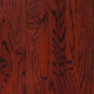 Millstead Oak Bordeaux 3/8 in. Thick x 3-3/4 in. Wide x Random Length Engineered Click Hardwood Flooring (24.4 sq. ft. / case)