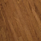 Bruce Bayport Oak Gunstock Hardwood Solid Flooring - 5 in. x 7 in. Take Home Sample