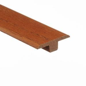 Zamma Marsh / Woodale Caramel 3/8 in. Thick x 1-3/4 in. Wide x 94 in. Length Wood T-Molding