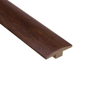 Home Legend Moroccan Walnut 3/8 in. Thick x 2 in. Wide x 78 in. Length Hardwood T-Molding