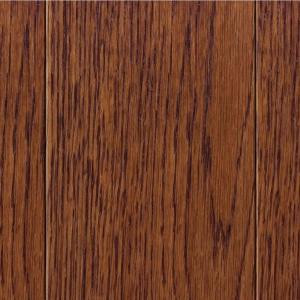 Home Legend Wire Brush Oak Toast 3/4 in. Thick x 3-1/2 in. Wide x Random Length Solid Hardwood Flooring (15.53 sq. ft/case)
