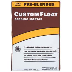 Custom Building Products CustomFloat Bedding Mortar 50 lb.