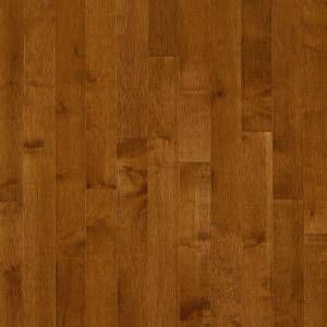 Bruce Maple Gunstock 3/4 in. Thick x 2-1/4 in. Wide x 84 in. Length Solid Hardwood Flooring (20 sq. ft./case)