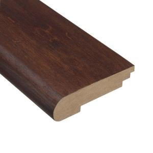 Home Legend Moroccan Walnut 3/8 in. Thick x 3-1/2 in. Wide x 78 in. Length Hardwood Stair Nose Molding
