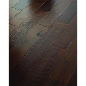 Shaw 3/8 in. x 5 in. Hand Scraped Maple Edge Ash Engineered Hardwood Flooring (19.72 sq. ft. / case)