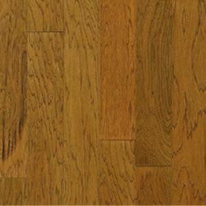 Millstead Hickory Honey 3/4 in. Thick x 4 in. Width x Random Length Solid Real Hardwood Flooring (21 sq. ft. / case)