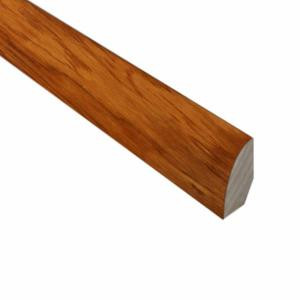 Millstead Hickory Golden Rustic 3/4 in. Thick x 3/4 in. Wide x 78 in. Length Hardwood Quarter Round Molding