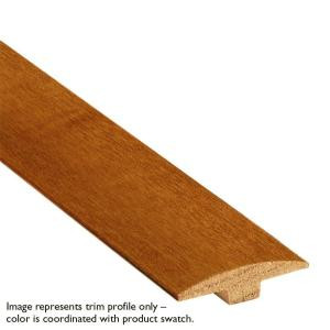 Bruce Cherry High Gloss Red Oak 1/4 in. Thick x 2 in. Wide x 78 in. Long T-Molding