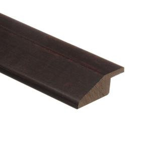 Zamma SS Chocolate Hickory 3/8 in. Thick x 1-3/4 in. Wide x 94 in. Length Hardwood Multi-Purpose Reducer Molding
