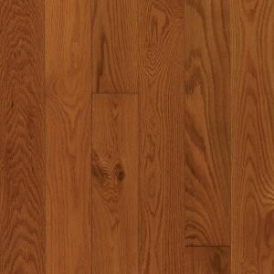 Mohawk Gunstock Oak 3/8 in. Thick x 3 in. Wide x Random Length Engineered Hardwood Flooring (23 sq. ft. / case)