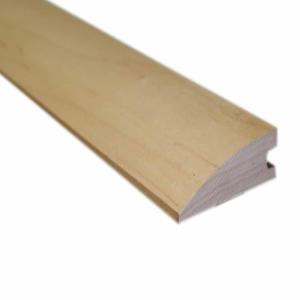 Millstead Unfinished Maple 3/4 in. Thick x 1-1/2 in. Wide x 78 in. Length Hardwood Flush-Mount Reducer Molding